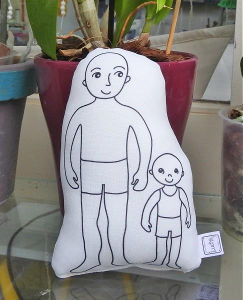FH homem + criança
