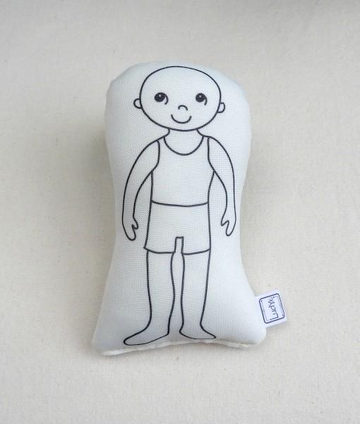 figura humana menino