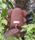 macaco-amigurumi